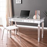 Southern Enterprises Mindel Mirrored Desk