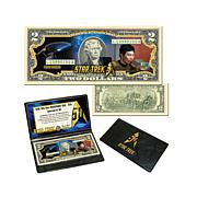 Star Trek 50th Anniversary $2 Bill - Lieutenant Sulu