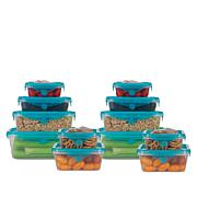Stretch & Fresh 24-piece Food Storage Set