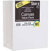 "Studio 71 Stretched Canvas 10-pack  - 8"" x 10"""