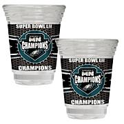 Super Bowl LII Champs 2 oz. Party Shot Glass Set - Eagles
