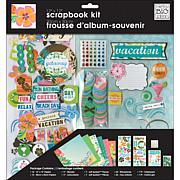 Surf Shop Page Scrapbook Kit