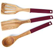 Symon Home 3-piece Acacia Wood Tool Set