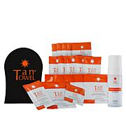 TanTowel® 20-piece Kit with Bronzing Mousse