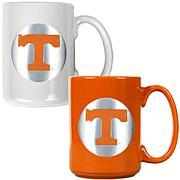 Tennessee Volunteers 2pc Coffee Mug Set