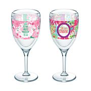 Tervis Simply Southern Relax More 9 oz. Wine Glass