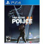 This is the Police 2 for PlayStation 4