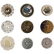 Tim Holtz Idea-Ology Accoutrements Fanciful Buttons