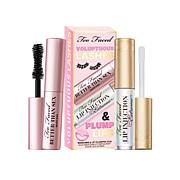 Too Faced Voluptuous Lashes and Plump Lips Mascara Set