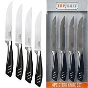 "Top Chef 5"" Steak Knife Set - 4-piece"