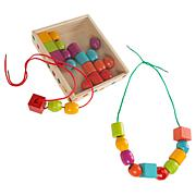 Toy Time Kids Bead and String Lacing Toy Set