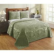 Trevor Collection 100 Percent Cotton Tufted Chenille Bedspread Set