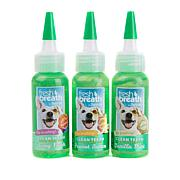Tropiclean Fresh Breath Oral Care Gel 3-Flavor Trio