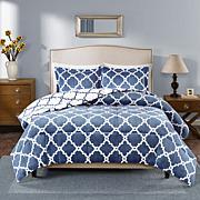 True North Peyton Reversible Navy Comforter Set - King