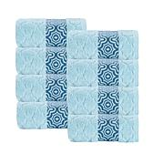 Turner Zero-Twist Turkish Cotton 4-piece Hand Towel Set
