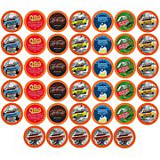 Two Rivers Coffee Best of the Best Flavored Coffee Pod Variety Pk,40ct