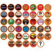 Two Rivers Coffee, Tea, Cocoa, Cider, Cappuccino Variety Sampler Pa...
