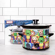 Uncanny Brands Marvel Avengers Kawaii 2-quart Slow Cooker