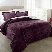 Warm & Cozy Faux Fur 3-piece Comforter Set