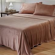 Warm & Cozy Glitter Hem Sheet Set