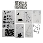 We R Memory Keepers Mini Evolution Stamp and Die Set - Winter