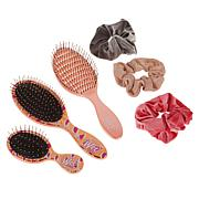 Wet Brush 6-piece Brush & Scrunchie Set