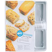 "Wilton 6 Mini-Loaf Pan - 4-1/2"" x 2-1/2"" x 1-1/2"""