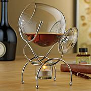 Wine Enthusiast 4-piece Brandy Warmer