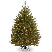 Winter Lane 4-1/2' Dunhill Fir Hinged Tree w/Lights
