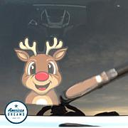 WiperTags Animated Rear Reindeer Wiper