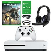 Xbox One S 1TB Naked Console with Titanfall 2 and Headset
