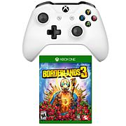 Xbox One Windows 10 Wireless Controller with Borderlands3 Game