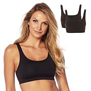 Yummie Seamless Scoop-Neck Bra 2-pack