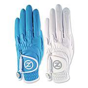 Zero Friction Ladies Cabretta Elite Universal-Fit Golf Glove 2-Pack