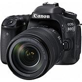 Canon EOS 80D 24.2MP Digital SLR Camera with EF-S 18-135mm Lens