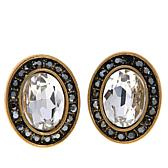 """Heidi Daus """"Worth Waiting For"""" Crystal Button Earrings"""