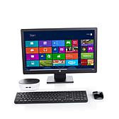 "HP Pavilion Mini PC with 23"" Monitor and Software"