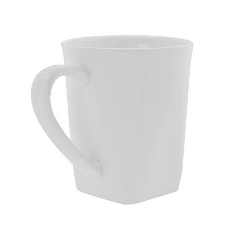 10 strawberry street whittier set of 6 square 8 oz mugs 7233893 hsn