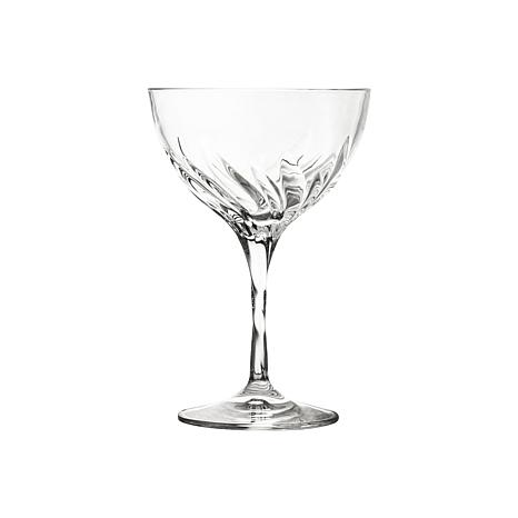 10 Strawberry Street Fluente 10oz Coupe Champagne Crystal Glass, 6-pck