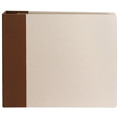 12 x 12 american crafts modern d ring album brown for American crafts page protectors 8x8