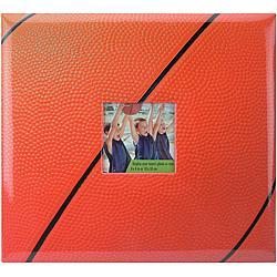 "12"" x 12"" Sport and Hobby Post-bound Album - Basketball"