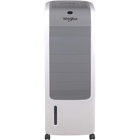 155 CFM Indoor Evaporative Air Cooler with Remote Control and Ice P...