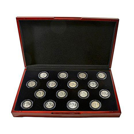 16pc Uncirculated Franklin Half Dollar Set - 1948-1963