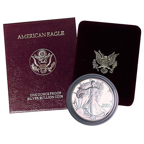 1989 Proof Silver Eagle Dollar
