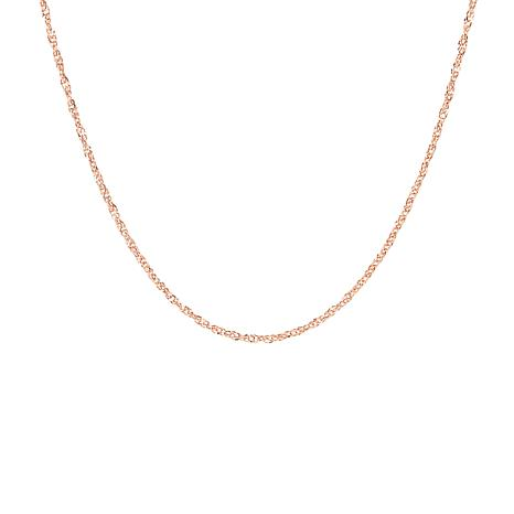 "20"" 14K Gold Polished Singapore Chain"