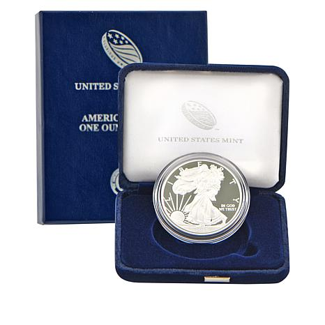 2013 W-Mint Proof Silver Eagle Dollar Coin