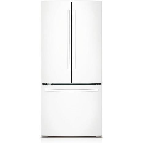 22 Cu. Ft. 30 Inch French Door Refrigerator  White