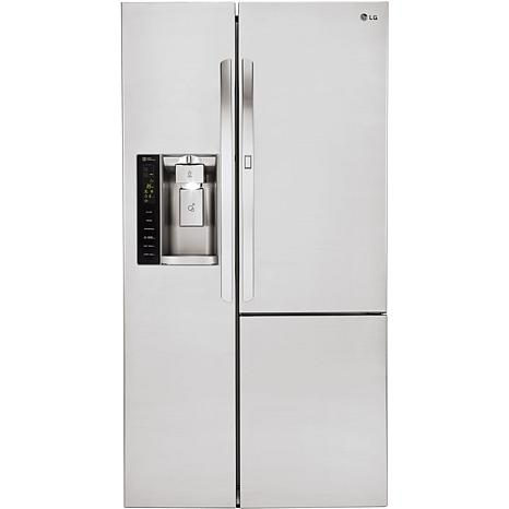 26 Cu. Ft. Side-By-Side Refrigerator - Stainless Steel