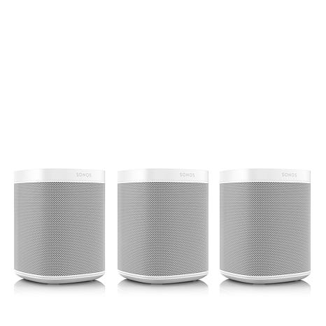 3-pack Sonos One Voice Controlled Multi-Room Smart Speaker