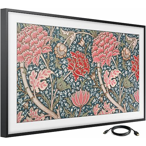 43 Inch Class The Frame QLED Smart 4K UHD TV with 6 Foot HDMI Cable